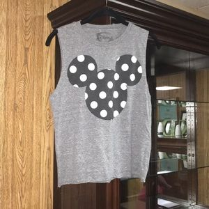 Gray Mickey tank top!!!
